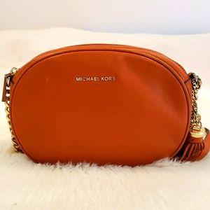 Michael Kors Rust Orange Crossbody Bag